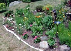 small butterfly garden - good ideas in article about providing shelter
