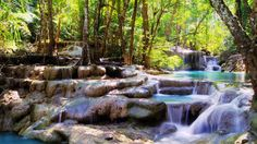 Erawan Waterfall Tourism, Thailand - Next Trip Tourism