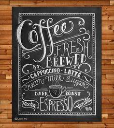 Coffee Print.