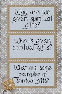 LDS Handouts: Building the Kingdom: How does Heavenly Father want me to use my spiritual gifts?