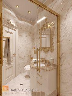 Фото дизайн интерьера санузла в детской из проекта «Дизайн четырёхкомнатной квартиры 200 кв.м. в классическом стиле, ЖК «Премьер Палас»»