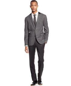 Aikos' | Slim Fit, Stretch Wool Sport Coat, Dark Blue | Clothes ...