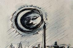 """Disegni di prigionia. Al Museo Diffuso della Resistenza di #Torino la mostra dei disegni di Luigi Carluccio. """"Gli ottanta disegni, esposti in originale e nella loro completezza per la prima volta, raffigurano, come in una sorta di specchio collettivo, la realtà esistenziale dell'internamento dei nostri connazionali."""""""