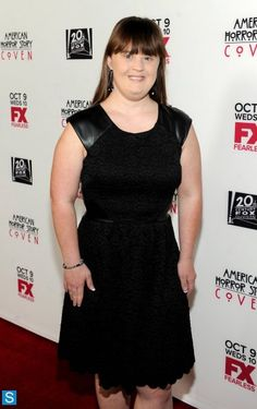 Jamie Brewer, amazing actor who happens to have Ds. The movie American horror story!