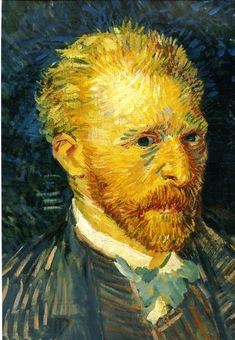 Vincent Van Gogh self portrait -