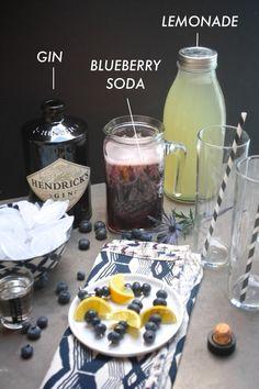 Spiked Blueberry Lemonade / shutterbean