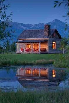 Mountain cabin luxury