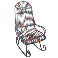 Rocking chair patchwork