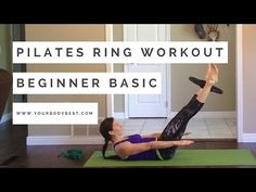 In less than 20 minutes, we warm-up, do a nice core workout using the pilates ring, and stretch. This is a great workout if you're short on time, or add it t...