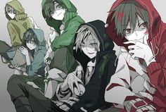 kagerou project, mekaku city actors, and anime image Vocaloid, Kagerou Project, Illustration, Anime Group, Image, Cool Art, Anime, Anime Movies, Manga