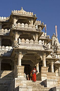 The Ranakpur complex is one of the biggest and most important Jain temples in India. Ranakpur Jain Temple near Udaipur, Rajasthan, India. Photograph by John Warburton-Lee Udaipur, Jain Temple, Indian Temple, Temple Architecture, Ancient Architecture, Temple Indien, Places Around The World, Around The Worlds, Site Archéologique