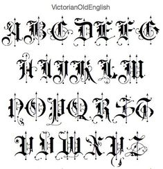 alter englischer Guss Viktorianischer alter englischer Guss - -Viktorianischer alter englischer Guss - - The old english latin alphabet —though it had no standard orthography —generally… Victorian Old English Title Text Ornamental Alphabet Vector Clipart Gotisches Alphabet, Alphabet Graffiti, Calligraphy Fonts Alphabet, Tattoo Fonts Alphabet, Hand Lettering Alphabet, Calligraphy Tattoo Fonts, Old Calligraphy, Tattoo Script, Script Fonts