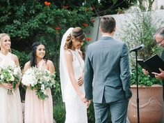 Writing Your Own Ceremony Vows? Read These Tips First | Photo by: Perpixel Photography | TheKnot.com