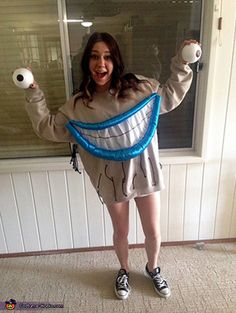 10 DIY Cartoon Character Costumes For Halloween You Never Thought Of | Gurl.com