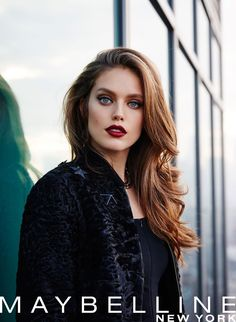 Spring 2016 Digital Campaign (Maybelline) with Emily DiDonato Emily Didonato, Maybelline, Make Up Looks, Provocateur, Most Beautiful Faces, Beautiful Models, Dark Hair, Beauty Women, Supermodels