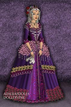 maria antonieta ~ by shanshan ~ created using the Tudors doll maker | DollDivine.com