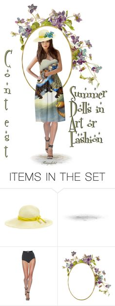 """""""Contest,Summer Doll!"""" by ragnh-mjos ❤ liked on Polyvore featuring art"""