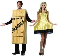 Funny and Famous Couple Costumes, bry if we ever go to Halloween party this is what we're doing