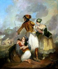 Greek Independence, Literary Themes, Greek Paintings, Art Periods, Exotic Art, 10 Picture, Romanticism, Costume Design, Greece