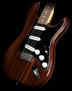 Fender Custom Shop Master Built 1960 Rosewood Stratocaster NOS Electric Guitar Natural Gloss