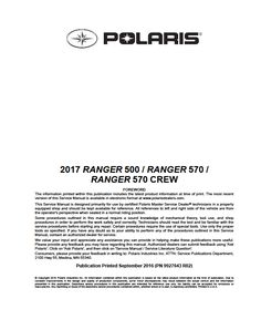 2015 polaris ranger xpcrew570900 service manual pdf download 2017 polaris ranger 500570 crew570 midsize service manual atv service manuals fandeluxe Image collections