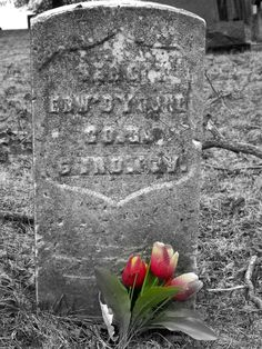 From a cemetery near Mecca, Indiana, Parke County