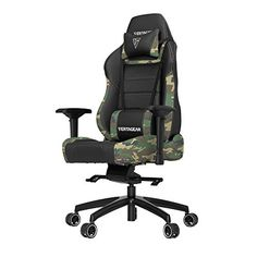 Vertagear PLine 6000 Racing Series Gaming Chair XLarge Black/Camouflage *** Check this awesome product by going to the link at the image. (This is an affiliate link and I receive a commission for the sales) Pc Racing Games, Chair Photography, Farmhouse Table Chairs, Dining Chair Slipcovers, Dining Chairs, Room Chairs, Study Design, Bedroom Chair, Orange Leather