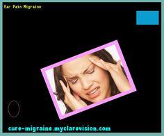 Ear Pain Migraine 171847 - Cure Migraine