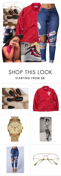 """"" by yani122 ❤ liked on Polyvore featuring A BATHING APE and MICHAEL Michael Kors"