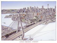 anzac bridge - Google Search