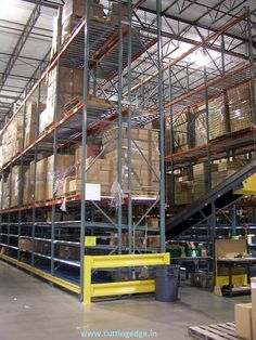 Pallet Rack contains wide range of frame heights, depths, beam lengths to store the Packaged industrial items.