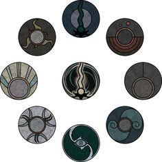 Reaver symbols from Legacy of Kain: Defiance by kriss80858.deviantart.com on @deviantART