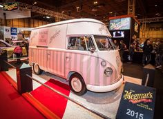 Florence at the NEC ~ Vintage Ice Cream Van Hire. Pollys Parlour. Pollys Vintage Ice Cream Parlour. Wedding Hire for Ice Cream. http://www.pollys-parlour.co.uk