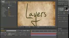 after effect word tracing - YouTube