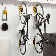 Cycloc Endo - a great new solution for your bike storage problem. Compact, quick…