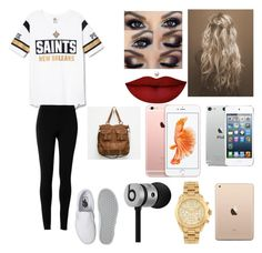 """Untitled #212"" by melany-galindo11 ❤ liked on Polyvore featuring beauty, Max Studio, Vans, Anastasia Beverly Hills, T-shirt & Jeans, Beats by Dr. Dre and Michael Kors"