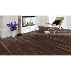 Shop Style Selections W X L Saddle Pine Smooth Laminate Wood Planks At Lowes Diy Flooring