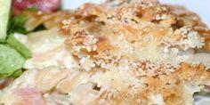 På en gang cremet og sprød pastagratin med skinke og en lækker topping af smeltet ost og rasp. Retten smager fantastisk og er ultra nem at lave, da den blot skal passe sig selv i ovnen.