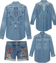 eat, sleep, denim blog: Day Trippin'… Mother Denim Loves Embroidery