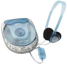GPX Ice Blue CD players