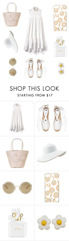 """""""Daisies"""" by totalteenagenobody ❤ liked on Polyvore featuring 3.1 Phillip Lim, Eric Javits, Dolce&Gabbana, Kate Spade and Marc Jacobs"""