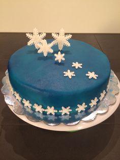 Snow / Winter cake