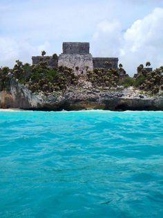 Tulum Mayan Ruins. Mexico