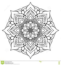 Vector Indian Mandala - Download From Over 66 Million High Quality Stock Photos, Images, Vectors. Sign up for FREE today. Image: 81215553