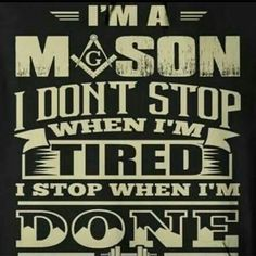 I am a Mason More