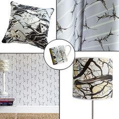 Rachel Reynolds, Interior Wallpaper, Uk Shop, Satin Fabric, Monochrome, Screen Printing, Print Patterns, How To Draw Hands