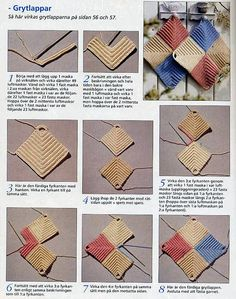 Crochet Stitch Tutorial  Interesting mitered corner idea possibly for an afghan.