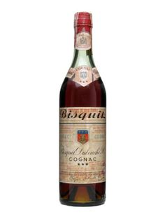 A 3 star cognac (now called VS) from Bisquit.  The brand was established in 1819 and the Château of the same name was built in the heart of Cognac at the end of the 19th century.  We estimate this ...