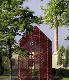 Otten Kunstraum © Alexander Konstantinow, Otten Kunstraum Feldkirch, Muse, Outdoor Structures, Bregenz, Landscape, Architecture