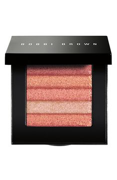 This Bobbi Brown shimmer compact works well with neutral and peach blush shades.
